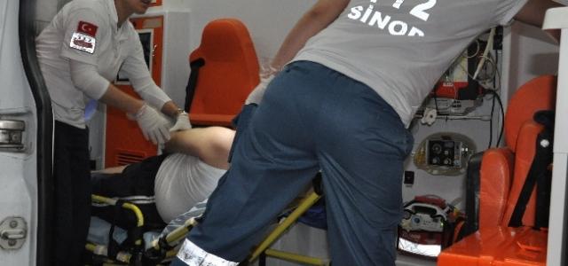 Sinop'ta Su Baskını: 1 Yaralı