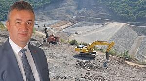 19 Mayıs Barajında Çalışmalar Son Sürat