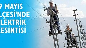 19 Mayıs İlçesi'nde Elektrik Kesintisi