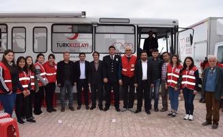 Yakakentliler Kan Bağışına Akın Etti