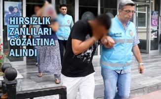 Azılı Hırsızları Güvenlik Kamera Kayıtları Yakalattı