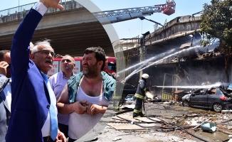Başkan Yılmaz; Patlama Alanında