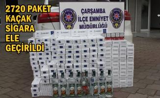 Çarşamba İlçesinde Kaçakçılık Operasyonu; 1 Gözaltı