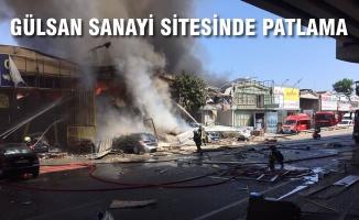 Gülsan Sanayi Sitesindeki Patlamada 1'i Ağır 11 Kişi Yaralandı