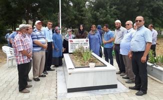 Şehit Muhammed Ali Aksu; Kabri Başında Dualarla Anıldı