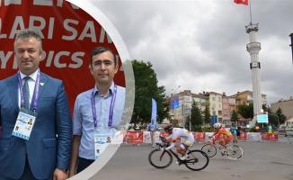 Yol Bisikleti Yarışmaları 19 Mayıs İlçesinde Başladı
