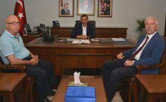 Başkan Hadi Uyar'dan Vali Osman Kaymak'a Ziyaret
