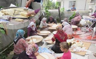 Kavak'ta Kadınlardan 15 Temmuz Şehitler Camisi'ne Destek