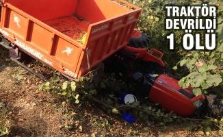 Terme'de Traktör Devrildi: 1 Ölü