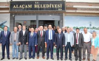 AK Parti'den Alaçam Belediye Başkanı Uyar'a Ziyaret