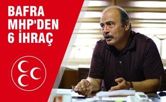 Bafra MHP'den 6 Kişi  İl Disiplin Kuruluna Sevk Edildi