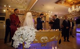 Bakanlar Soylu, Bak ve Eroğlu nikah şahidi oldu