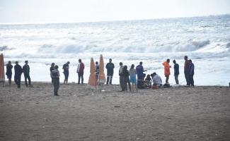 Bartın'da denizde boğulma