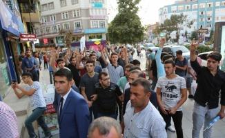 Çorum'da IKBY'nin referandum kararı protesto edildi