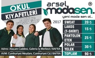En Uygun Okul Kıyafetleri Arsel Modasen'de