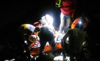 GÜNCELLEME - Trabzon'da otomobil uçuruma yuvarlandı: 3 ölü, 1 yaralı