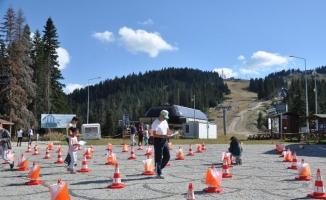 Ilgaz Dağı'nda oryantiring yarışları