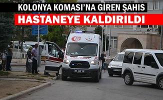 Kolonya Koması'na Giren Şahıs Hastaneye Kaldırıldı