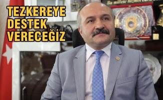 """MHP Grup Başkanvekili Usta; """"Tezkereye Destek Vereceğiz"""""""
