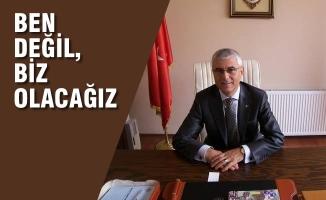 """Rızvan Aksoy; """"Ben Değil Biz Olacağız"""""""