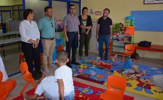 Şehit Vural Akdeniz Anaokulunda Miniklerin İlk Gün Heyecanı