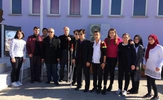 Bafra'da 15 Ekim Beyaz Baston Günü Etkinliği
