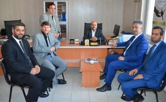 Başkan Topaloğlu'ndan 19 Mayıs Müftülüğüne Ziyaret