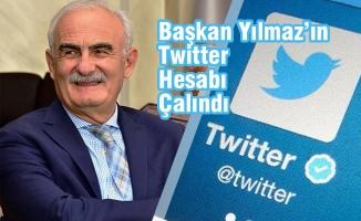 Başkan Yılmaz'ın Twitter Hesabı Çalındı