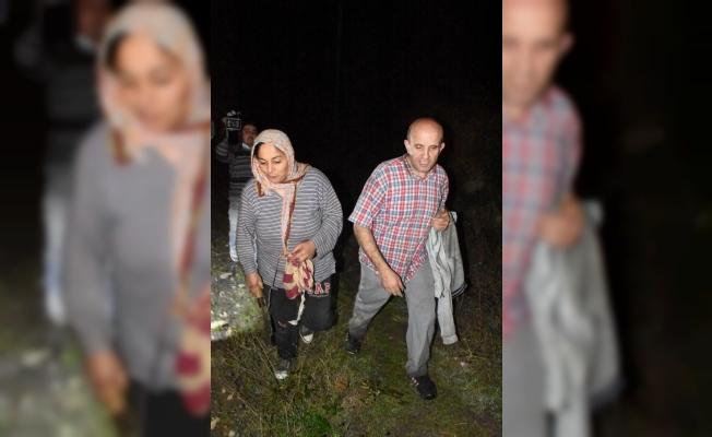 Kestane toplarken kaybolan iki kişi bulundu