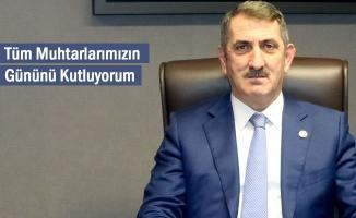 """Milletvekili Köktaş'tan """"Muhtarlar Günü"""" mesajı"""