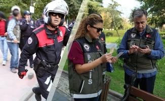 """Samsun'da """"Mobil Park Polisi"""" Uygulaması"""