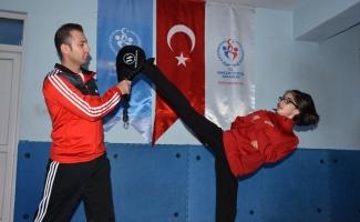Yıldız tekvandocu Fatma Eylül'ün hedefi dünya şampiyonluğu