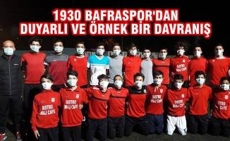 1930 Bafraspor'dan Duyarlı ve Örnek Bir Davranış
