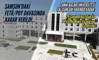 39 Sanıklı FETÖ/PDY Davasında Karar;25 Sanığa Hapis Cezası