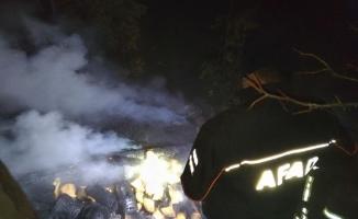 Artvin'de ev yandı: 1 ölü