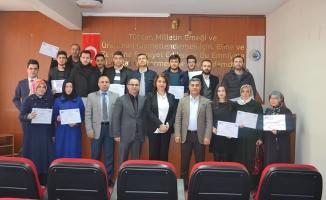 Bafra'nın Yeni Girişimcileri Sertifikalarına Kavuştu