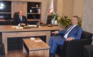 Başkan Topaloğlu'ndan İl Sağlık Müdürü Oruç'na Ziyaret