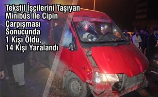 Çarşamba'da Trafik Kazası: 1 Ölü, 14 Yaralı