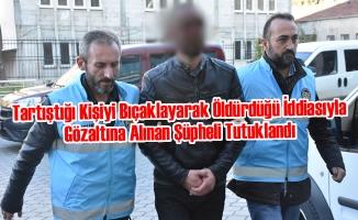Samsun'daki Bıçaklı Kavga; 1 Tutuklama