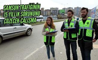 Samsun Trafiğinin 15 Yıllık Sorununu Çözecek Çalışma