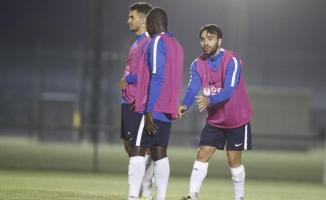Trabzonspor'da Volkan ile Rodallega barıştı