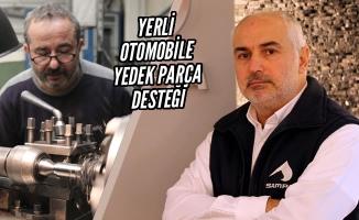 Yerli Otomobile Samsun'dan Yedek Parça Desteği