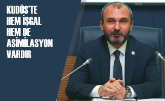 """Milletvekili Kırcalı: """"Kudüs Müslümanların İlk Kıblesidir"""""""