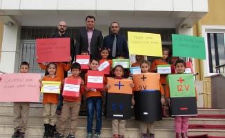 Öğrencilerden Atık Pil Kampanyası