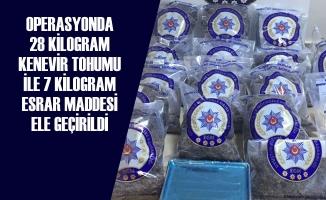Samsun'da Uyuşturucu Operasyonu; 3 Tutuklama
