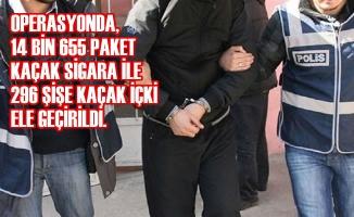 Samsun Merkezli Kaçakçılık Operasyonu; 4 Kişi Gözaltına Alındı
