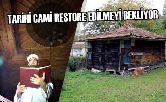 Tarihi Cami Restore Edilmeyi Bekliyor