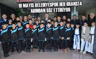 19 Mayıs Belediyespor Her Branşta Adından Söz Ettiriyor