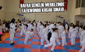 Bafra Gençlik Merkezi Taekwondo Kuşak Sınavı