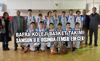 Bafra Koleji Basket Takımı Samsun'u İl Dışında Temsil Edecek